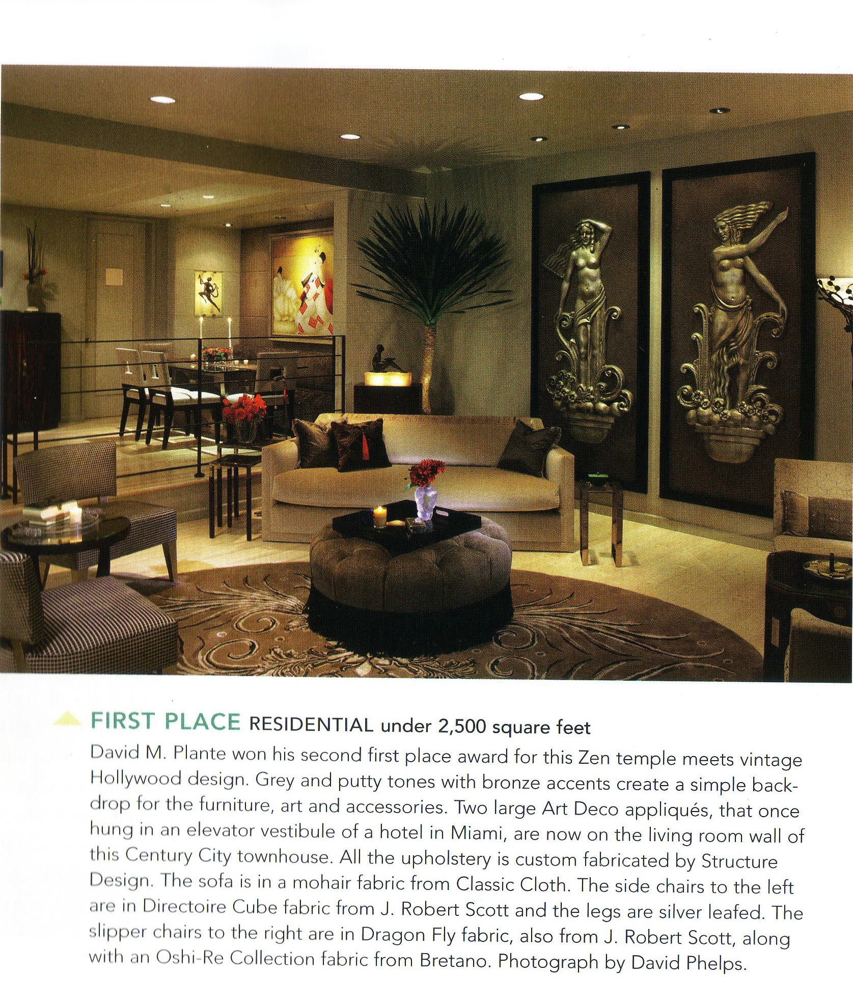 California homes magazine david m plante interior design for California home and design magazine